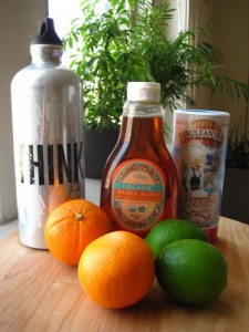 Oranges, lemons, agave and salt