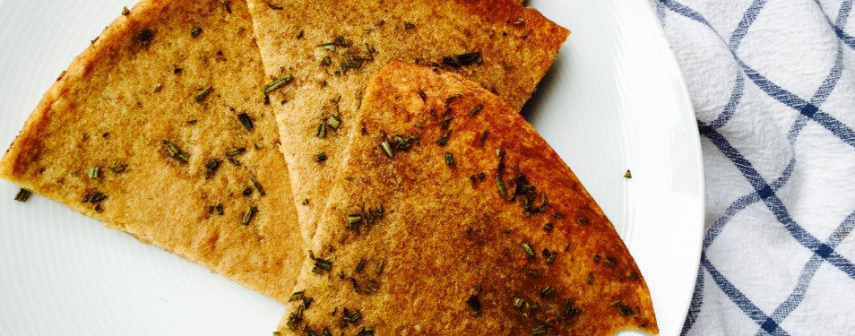 Rosemary  Whole Wheat Flatbrea...